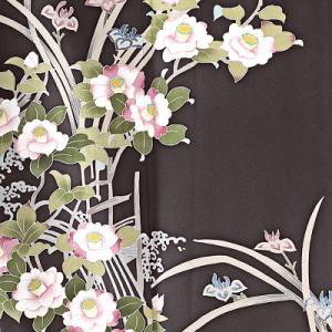 本加賀友禅訪問着レンタル0945M裾着物レンタル,母親,卒業式,入学式,色無地,訪問着,卒園式,入園式,山口美術織物,着付け,美容室