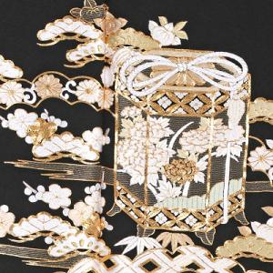 総刺繍黒留袖レンタル0910-M裾,総刺繍,留袖レンタル,安い,相場,結婚式,貸衣装,着付け,美容室