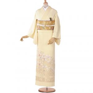 山口美術織物色留袖レンタル0179M